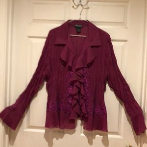 NWOT Style & Co. Woman size 18W Blouse Beautiful